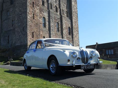 Wedding Car Etiquette Uk by 1968 Jaguar East Wedding Car Hire For Durham