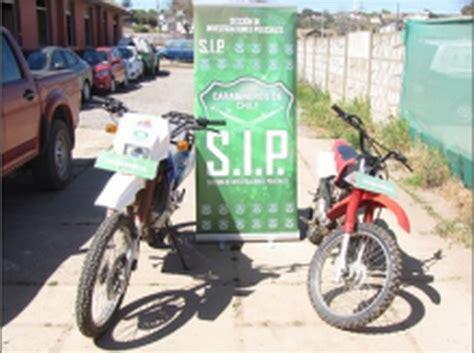 Motorrad Concepcion Chile by Carabineros Busca A Los Due 241 Os De Dos Motos Robadas En San
