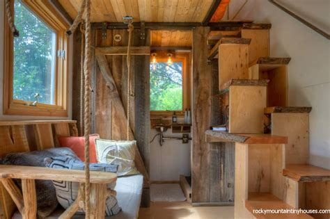interiors of small homes new rustic dwelling from rocky mountain tiny houses