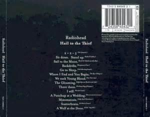 Hail To The Thief best 25 hail to the thief ideas on radiohead
