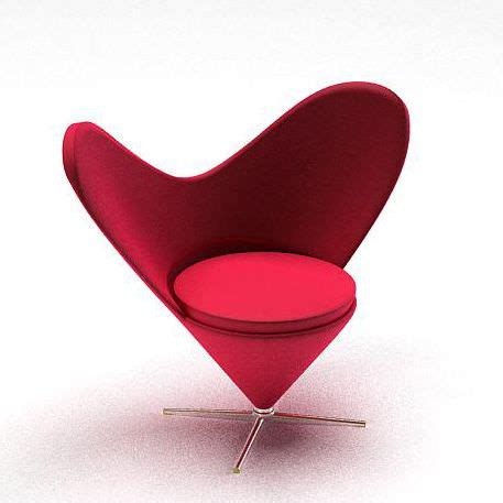 furniture upholstered vanity chair with heart shaped heart shaped chair 3d model cgtrader com