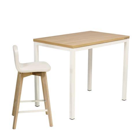 table de cuisine rectangulaire en stratifi 233 basic 4 chaise pour table hauteur 90 cm 28 images table de