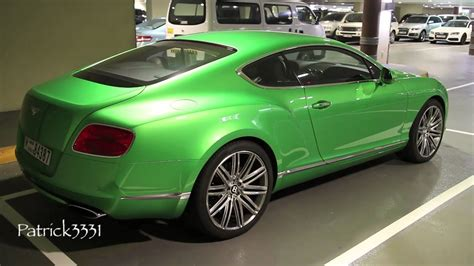 lime green bentley bentley continental gt w12 in lime green