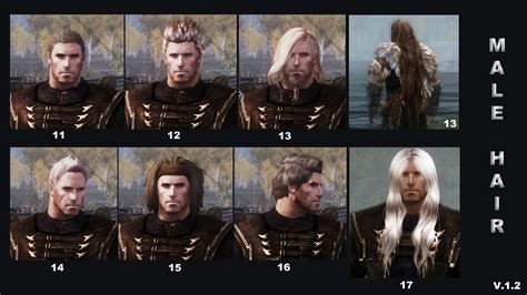 skyrim male ponytail mod skyrim long hair mod male