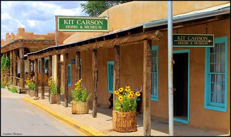 kit homes new mexico kit carson home and museum taos nm been there pinterest