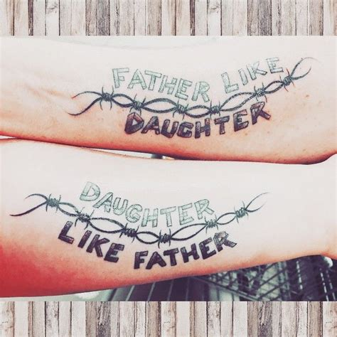 father daughter tattoos quotes tattoos upload mega quotes