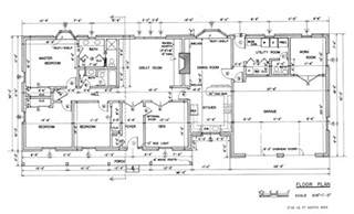 free country ranch house plans floor open concept plan