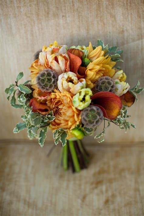 fall wedding flower ideas pictures 30 fall wedding bouquets rustic wedding chic
