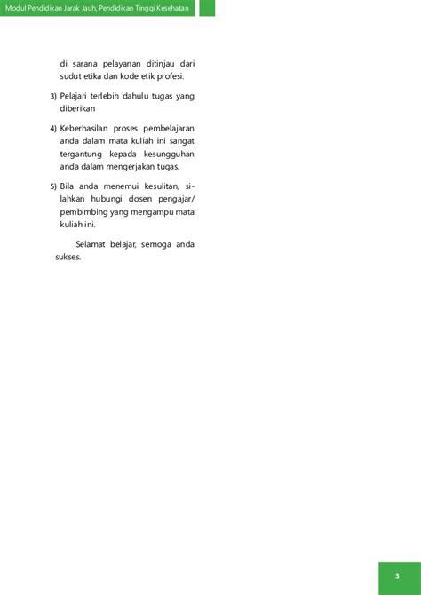 Modul Mata Kuliah Konsep Kebidanan modul 1 etikolegal