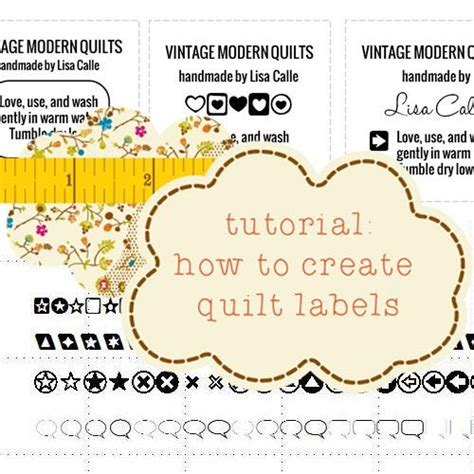 How To Make Labels For Quilts tutorials make labels and quilt labels on