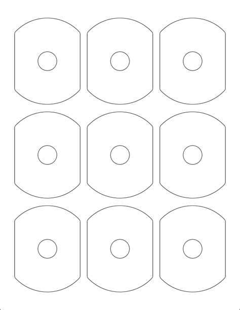 Cd Rom Label Template