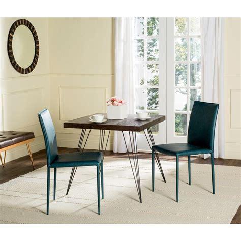 alexander teal bonded leather dining karna bonded leather dining chair in antique teal 2 pack