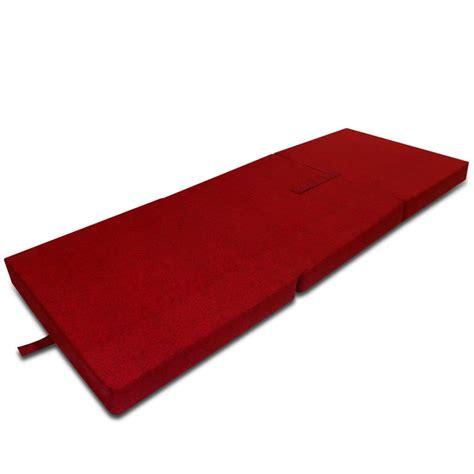 matratze schaumstoff der schaumstoff matratze klappmatratze g 228 stebett rot 190 x