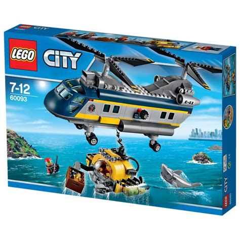 Sale Lego City Sea Helicopter lego city sea helicopter 60093 toys zavvi
