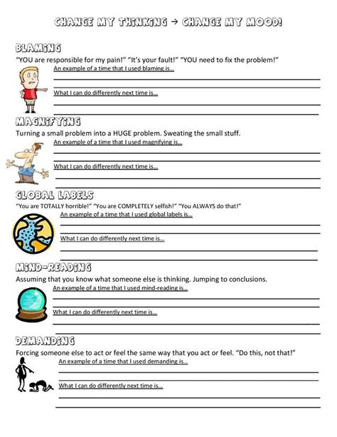 Grief Worksheets by 1000 Images About Therapy On Positive Traits