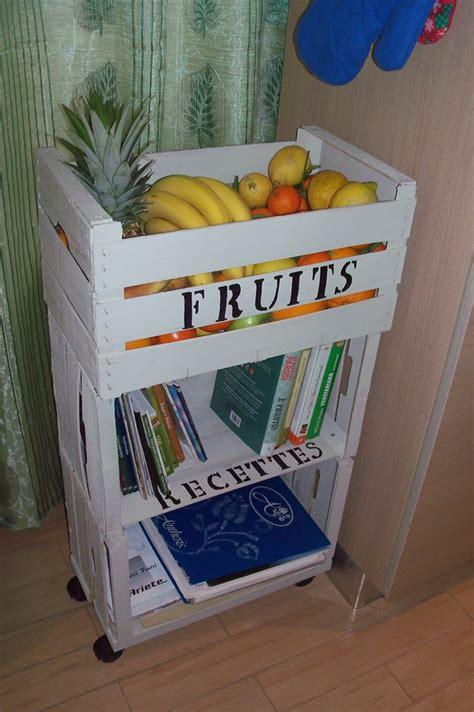 creare con le cassette della frutta come creare un carrello da cucina riutilizzando vecchie