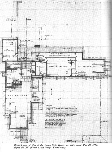 Pope Leighey House Floor Plan 1000 Images About Usonian On Houses Museums And One Home