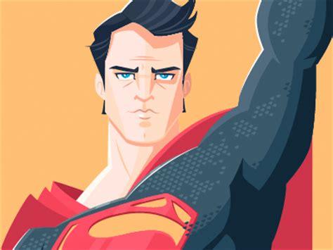 Minimalistic Design by Superman By Dennis Salvatier Dribbble