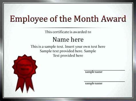 best employee certificate template best employee certificate sle template update234
