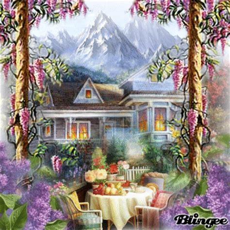 colazione in giardino immagine colazione in giardino 109083604 blingee