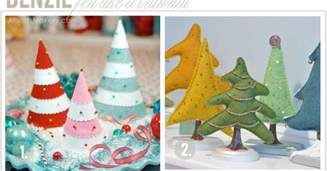 fanfare fir christmas trees benzie a fanfare of felt felt like a tutorial trees