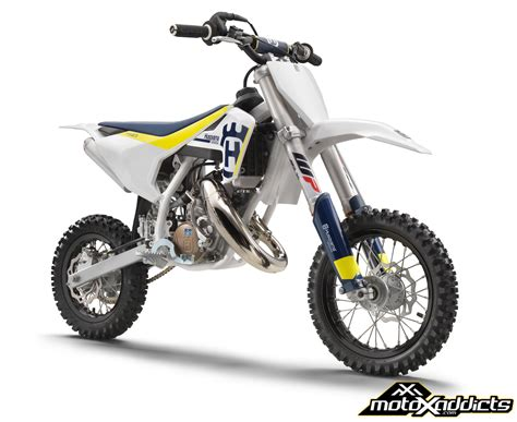 50cc motocross bike motoxaddicts 2017 husqvarna 50cc and 65cc motocross line