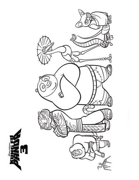 kung fu panda 3 characters coloring pages kids n fun com 7 coloring pages of kung fu panda 3