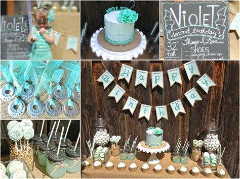 birthday themes for 2 year old little big company the blog a mint themed 2nd birthday