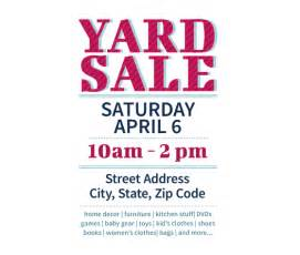 garage sale flyer template word this yard sale flyer template and other free