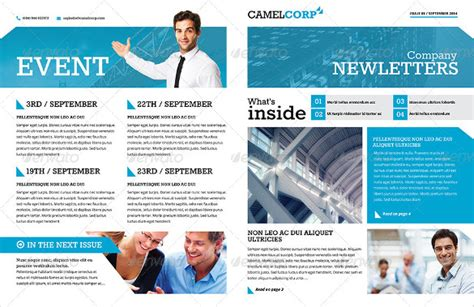 20 Word Newsletter Templates Free Download Free Premium Templates Company Newsletter Template Word