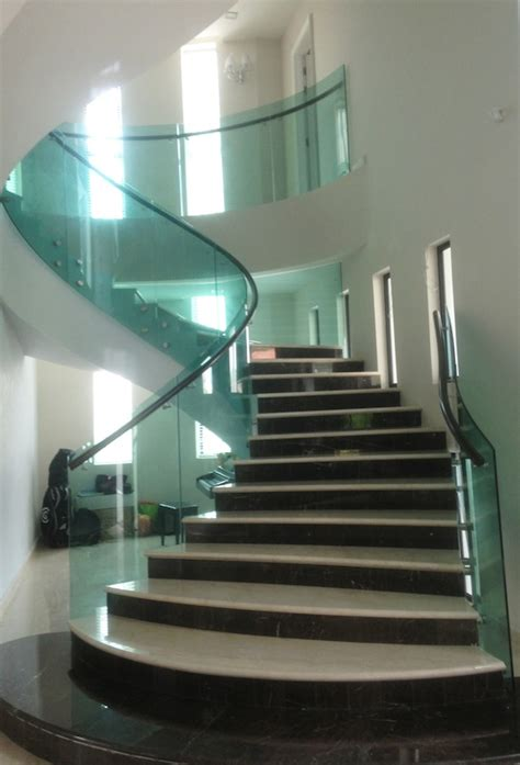 Glass Stairs Design Staircase Glass Design Glass Network Malaysia