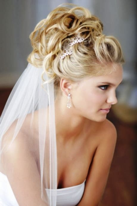 Wedding Updo With Veil Underneath by Wedding Hair Updos With Veil