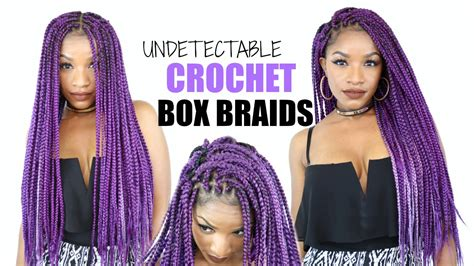 how to keep crochet box braids from coming out crochet box braids tutorial cheat method youtube