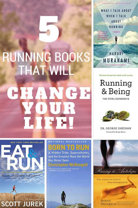 running books 5 running books that will change your 187 salads for lunch