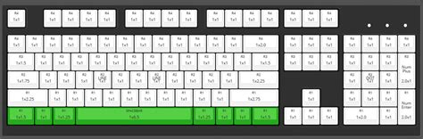 Bottom Layout Guide Keyboard | max ansi layout custom backlight cherry mx keycap set top