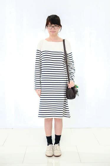 Muji Cotton 5cm X 6 Cm 5pad muji stripe striped organic cotton t shirt dress tunic bassike ebay