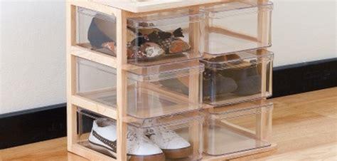 Schuhe Aufbewahren Wenig Platz 2402 schuhbox schuhe f 252 r wenig platz