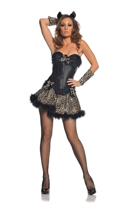 Clothing Shoes Accessories Costumes Womens Costumes | sexy leopard kitty dress womens costume ebay