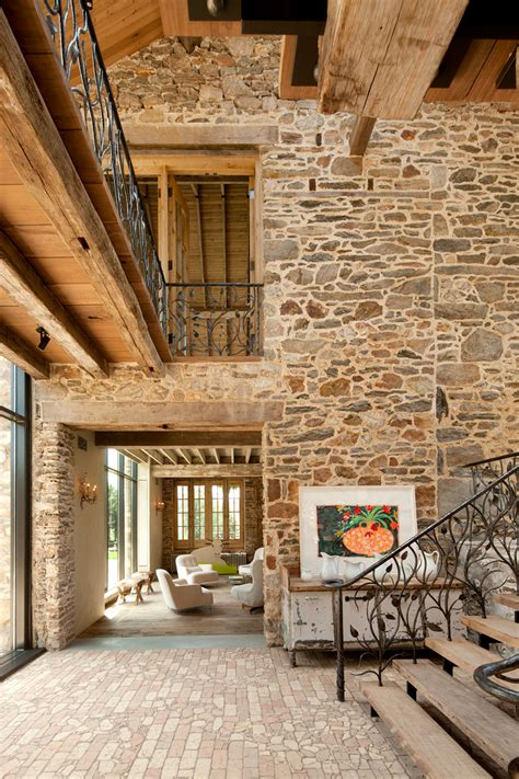 interior renovation of a century old home in canada by rural renovation 18th century private estate gets a
