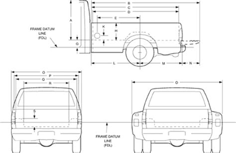 ford f250 truck bed dimensions autos post