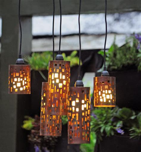 diy outdoor lighting ideas outdoortheme com