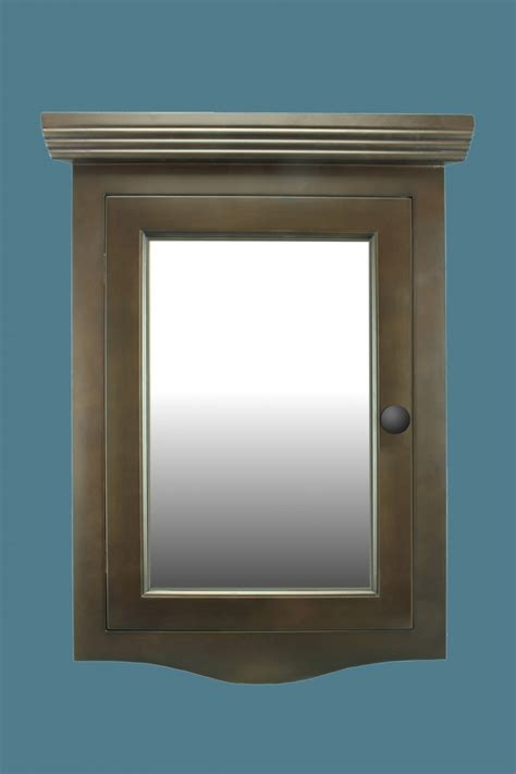 corner medicine cabinet recessed dark oak mirror wall