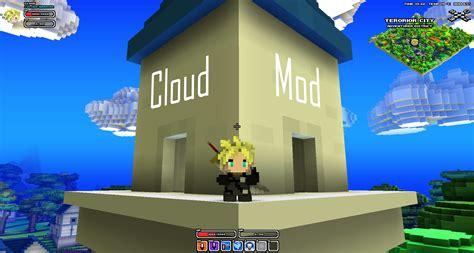 Lego Minecraft Cube World 2 cloud mod player models cube world mods