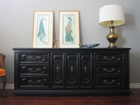 Painting Wood Dresser by Painting Wood Furniture Black For Classic Interior House
