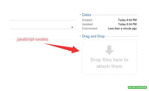design html page with drag and drop under the hood of jira drag and drop attachments plugin