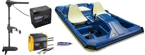 paddle boats with trolling motors on them skipper pedal boat package