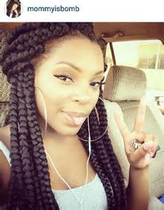 jumbo braids hairstyles pictures bomb jumbo braids protective styles pinterest