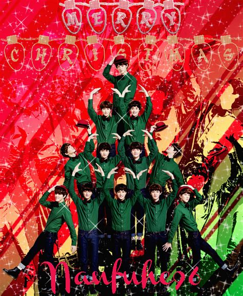 exo christmas wallpaper id exo christmas by nanfuhe96 on deviantart