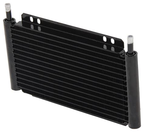 jeep liberty derale series 8000 plate fin transmission cooler kit w barb inlets class iii 2005 jeep liberty transmission coolers derale