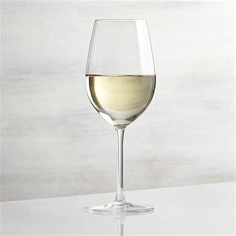 White Wine Glasses Vineyard 12 Oz White Wine Glass Crate And Barrel